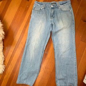 INC International Concepts Jeans - Inc Men's Jeans 34/30 Pale Wash